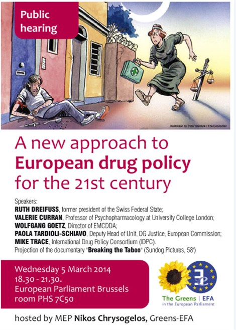 A new approach to European drug policy