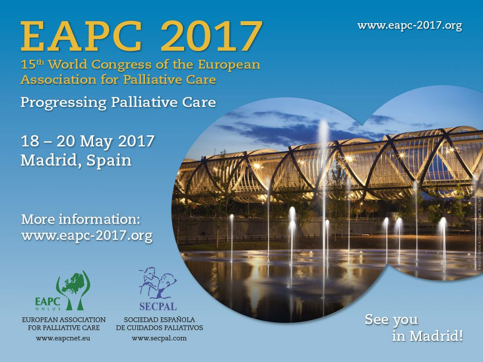 15th World Congress of the European Association for Palliative Care